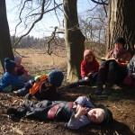 Geschichtentag im Wald